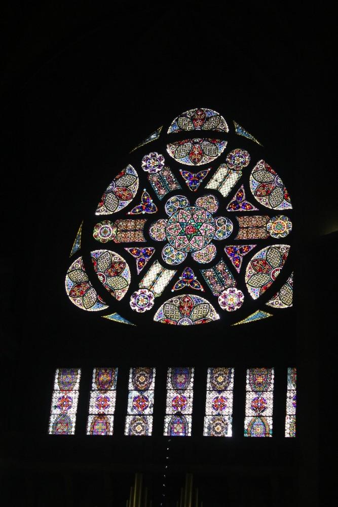 Kirchenfenster Bunt Glas