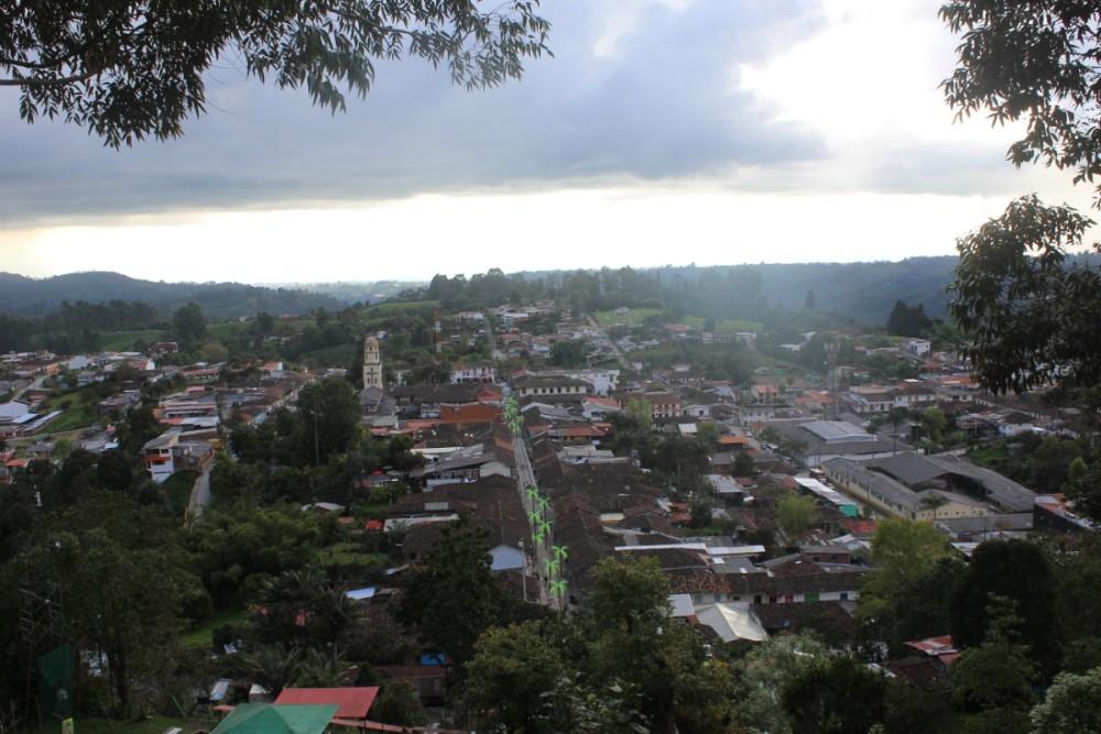 Salento Aussicht Stadt