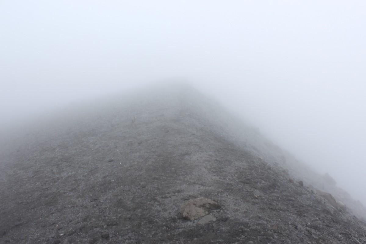 Vulkan Puricé Krater Aussicht