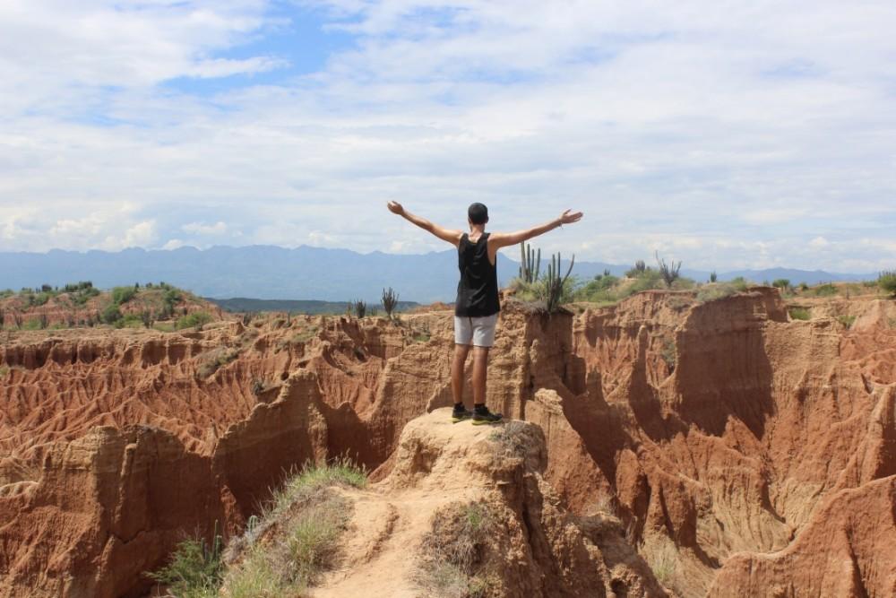 Rote Wüste Freiheit Natur