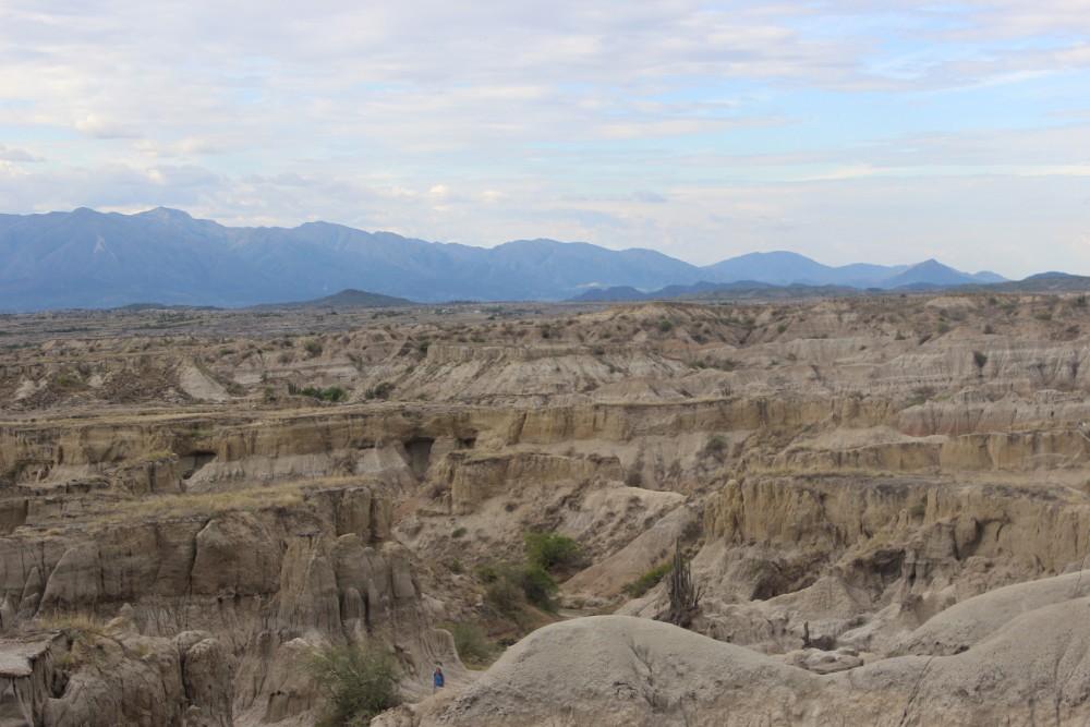 Tatacoa Wüste Grau Felsen Formationen Berge Natur