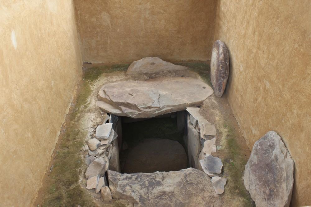 Grab Antik Indigen San Augustin