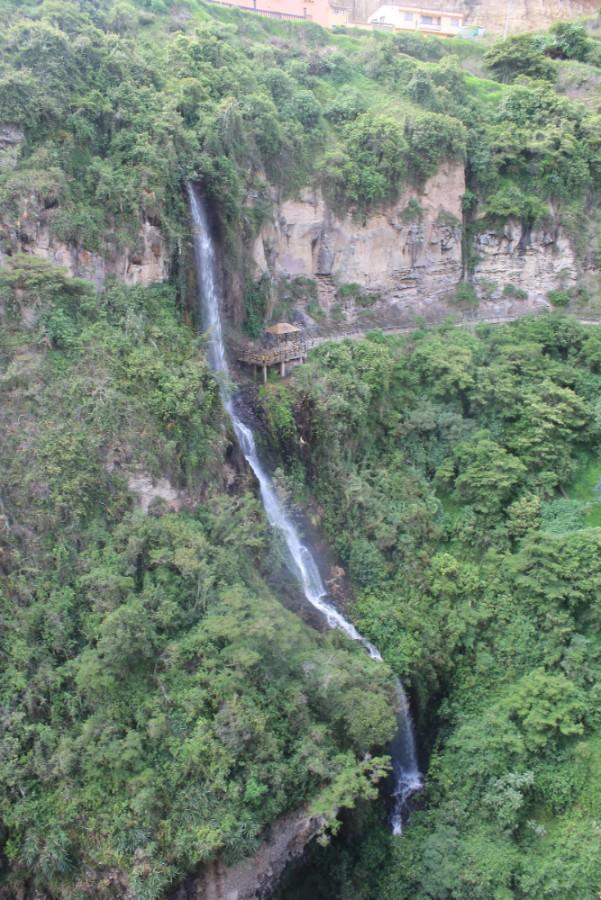 Ipiales Wasserfall Wasser Natur Berg