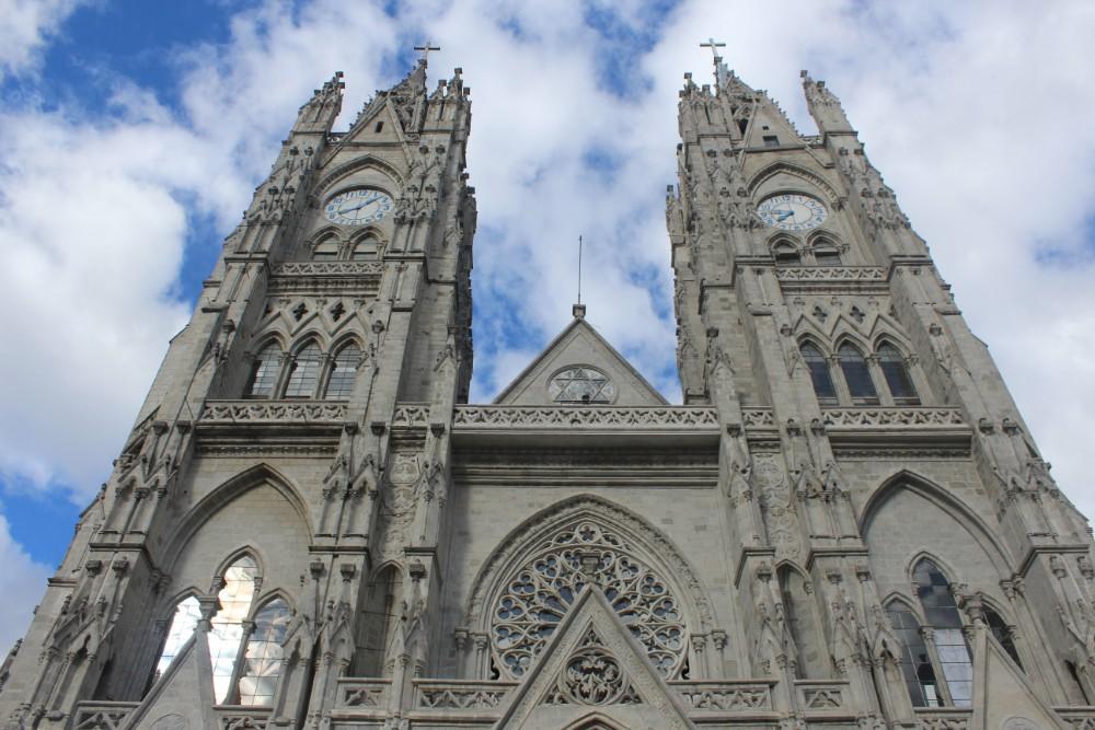 Ecuador Basilika Quito Türme Kirche
