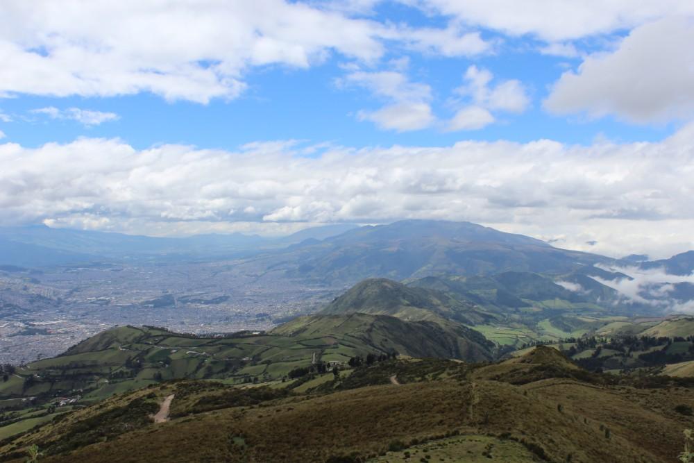 Quito Ecuador Berge Gebirge Aussicht