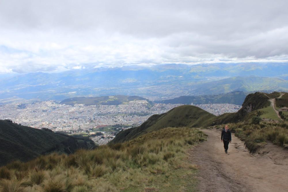 Wanderung Quito Vulkan