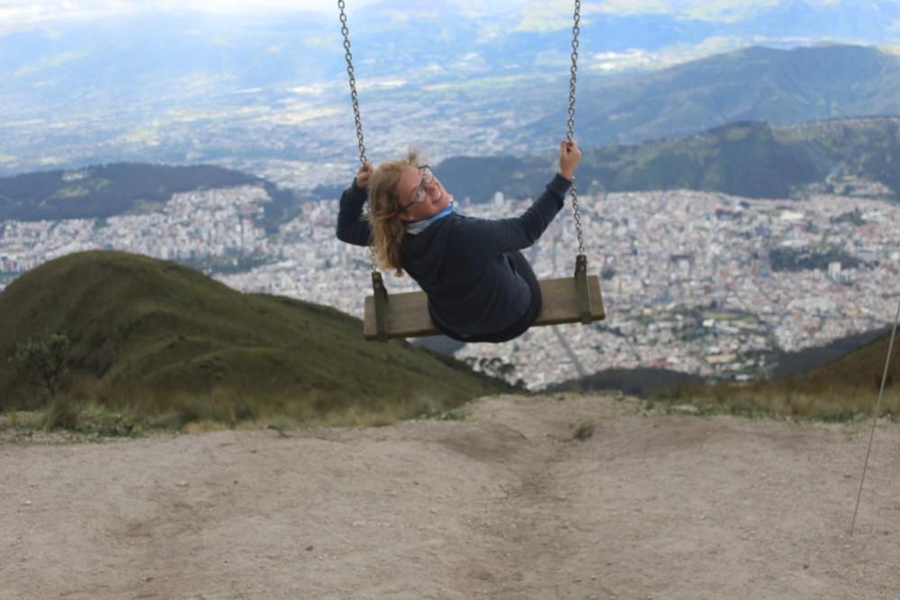 Quito Schaukel Stadt Ecuador