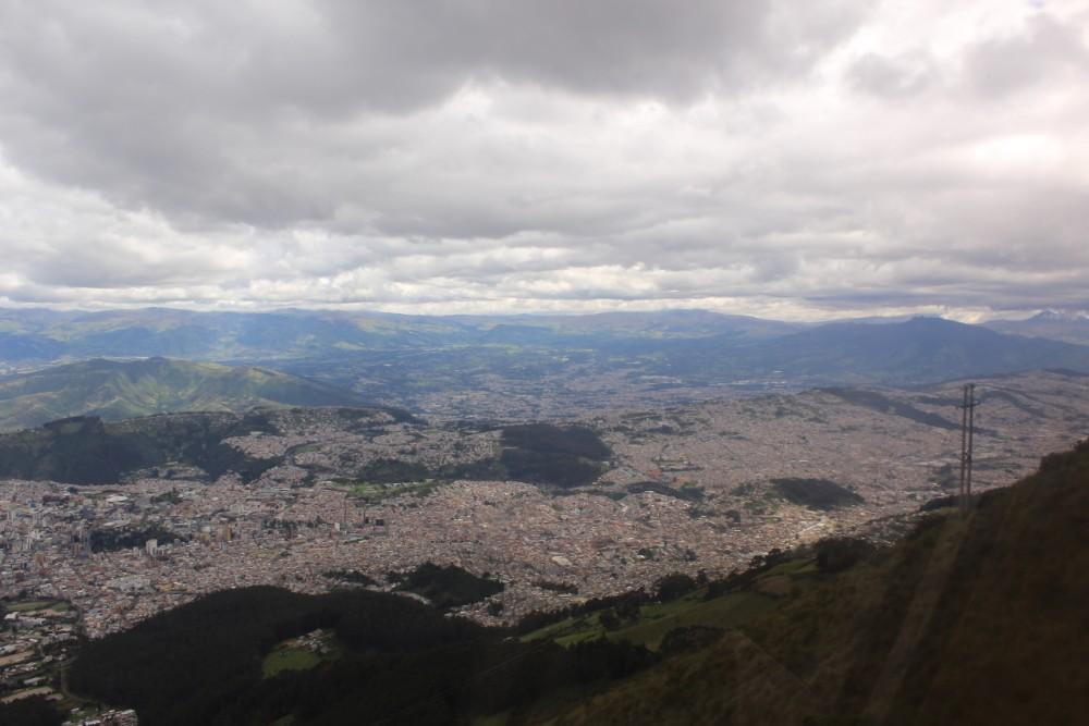 Quito Wanderung Ecuador Aussicht
