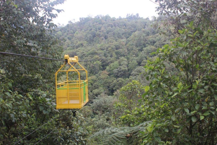 Seilbahn Mindo Natur Ecuador Nebelwald