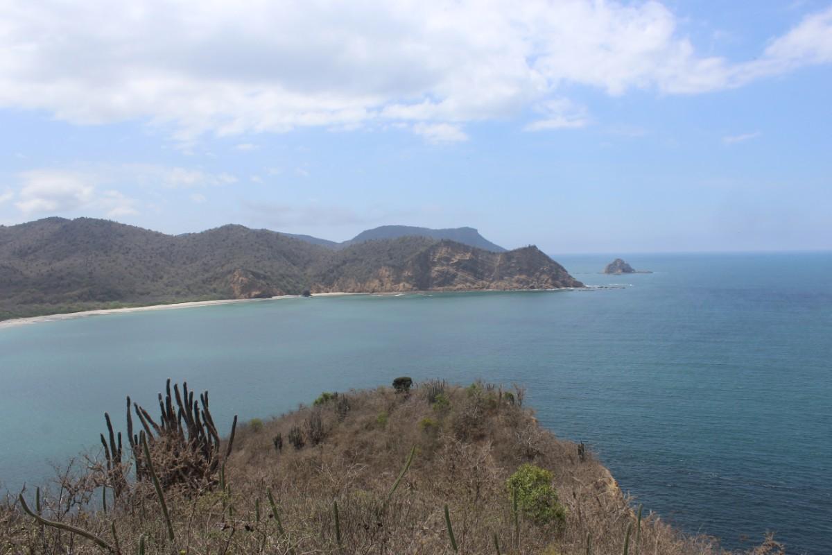 Strand Meer Los Frailes Paradis Küste