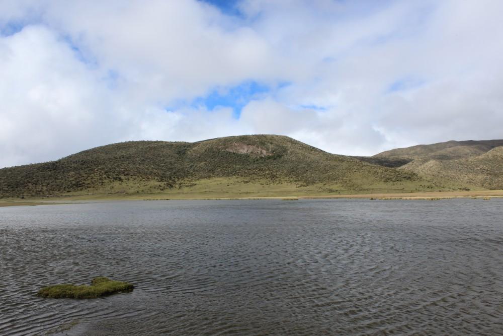 Cotopaxi Vulkan Lagune Wandern Natur Wasser