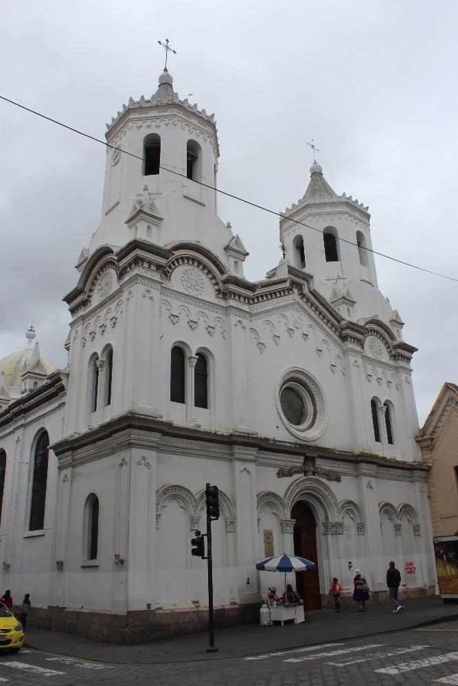 Cuenca Stadt Ecuador Südamerika Großstadt Kirche