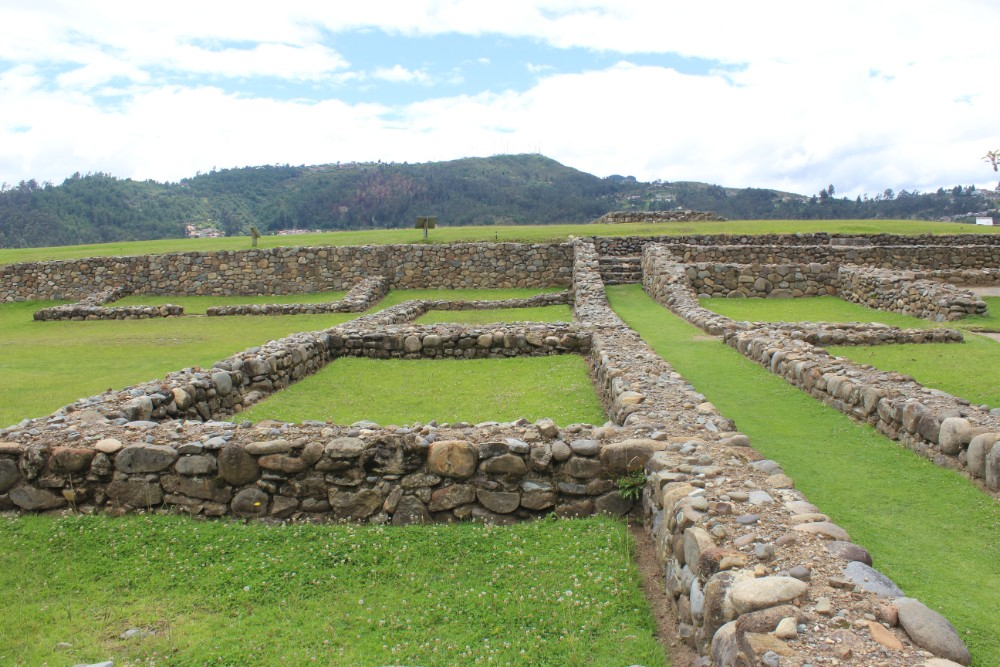 Cuenca Stadt Ecuador Südamerika Großstadt Museum Archäologie