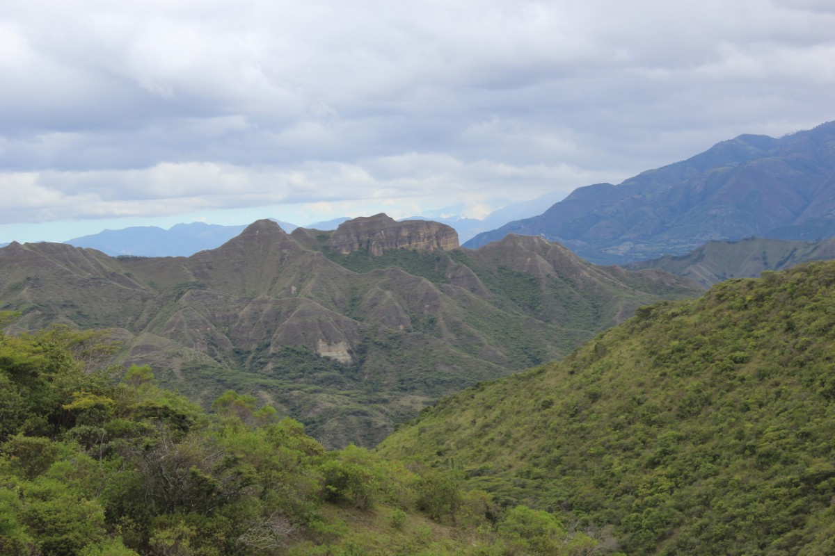 Izchayluma Trek Wanderung Natur Vilcabamba Ecuador Südamerika Aussicht