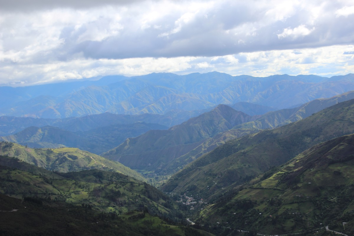 Podocarpus National Park Vilcabamba Ecuador Südamerika Natur Wandern Aussicht Aussichtspunkt