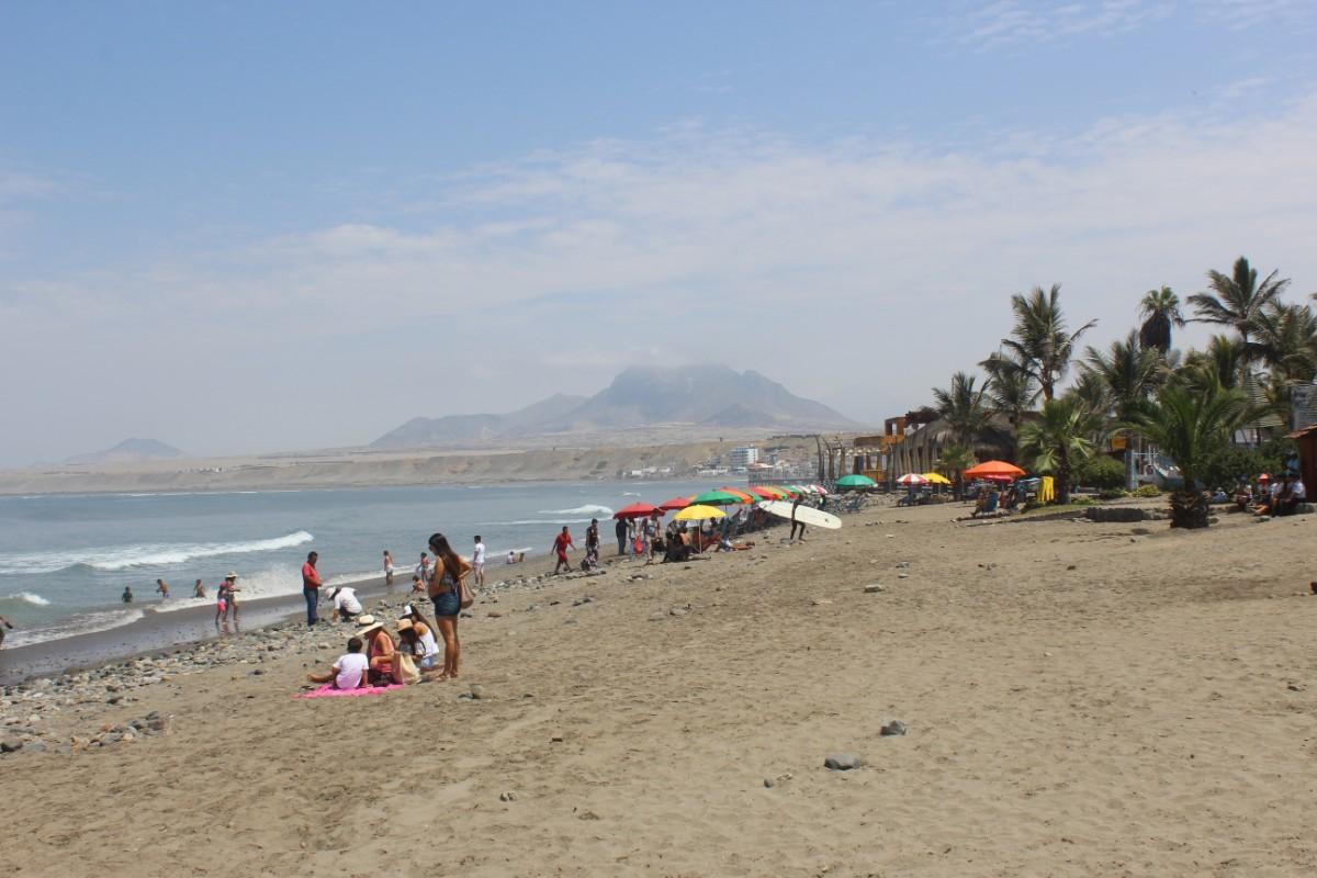 Strand Meer Sonne Huanchaco Trjuillo Südamerika Peru