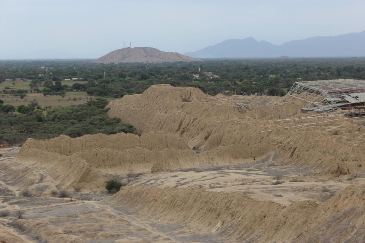 Chiclayo Peru Südamerika Tucume Pyramiden Ruinen Tempelanlagen