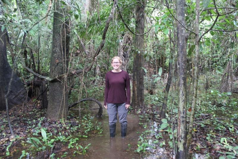 Amazonas Regenwald Peru Südamerika Natur Tiere Wildleben Wanderung Wasser Gummitstiefel