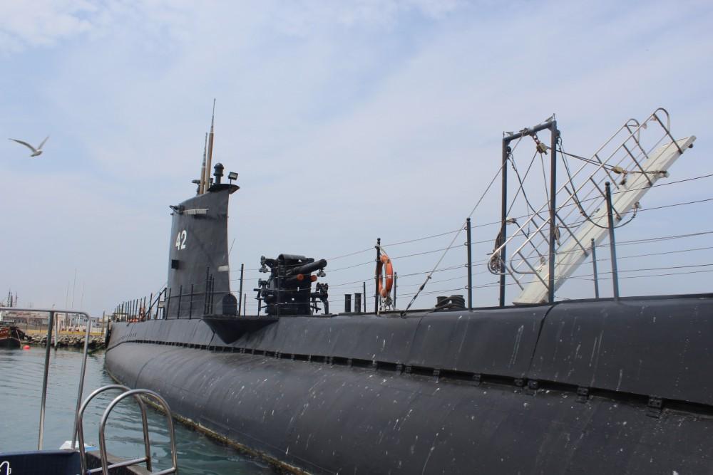 Hafen U-Boot Lima Museum Inaktiv Peru Hauptstadt Südamerika