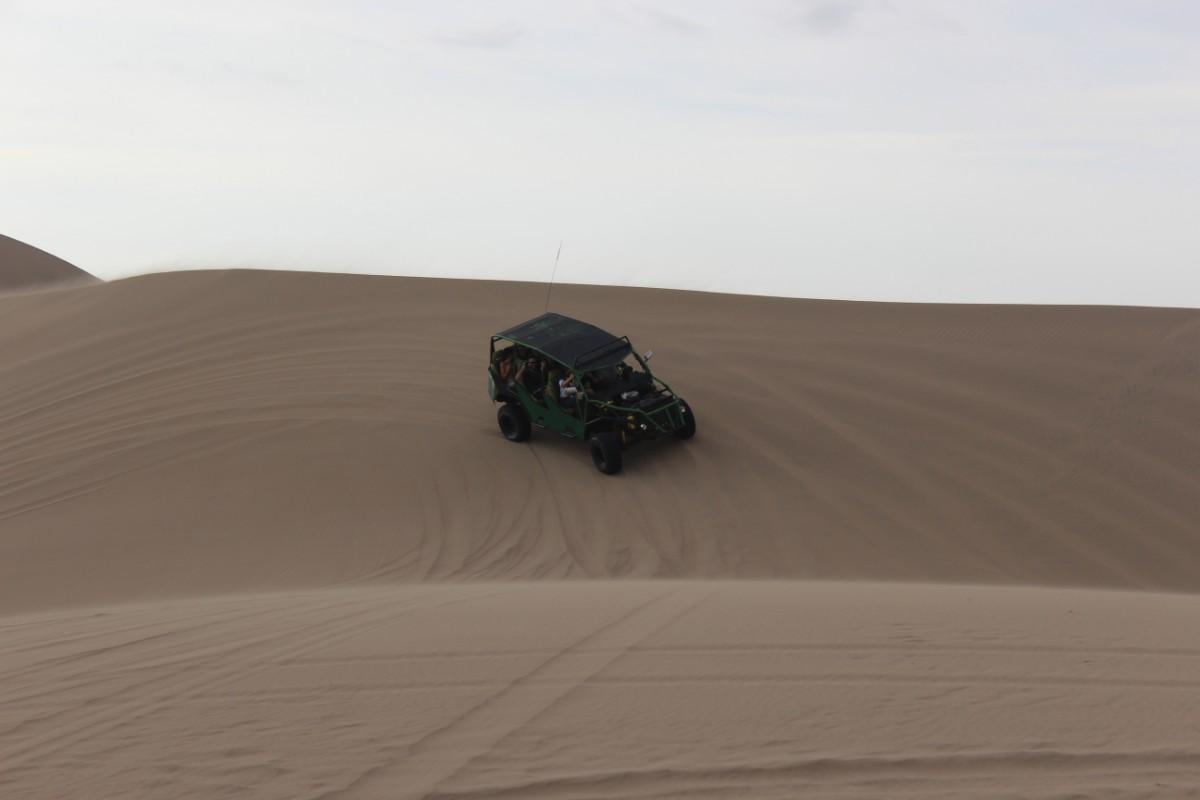 Huaccachina Ica Peru Südamerika Wüste Sand Wüstenbuggy Fahrt