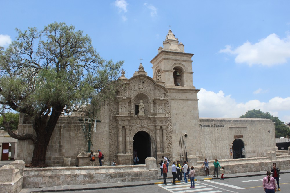Arequipa Peru Südamerika Kirche