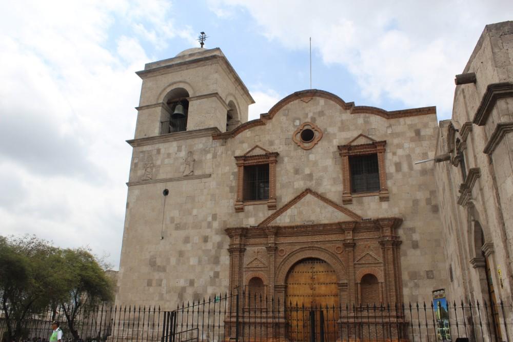 Arequipa Peru Südamerika Kirche Eingangstor