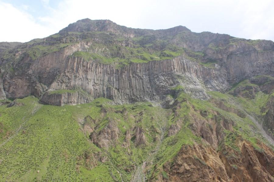 Colca Canyon Peru Südamerika Wandern Felsen Aussicht