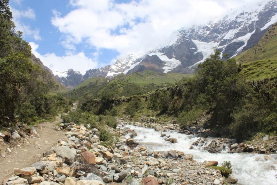 Salkantay Trek Wandern Peru Südamerika Machu Picchu Natur Aussicht