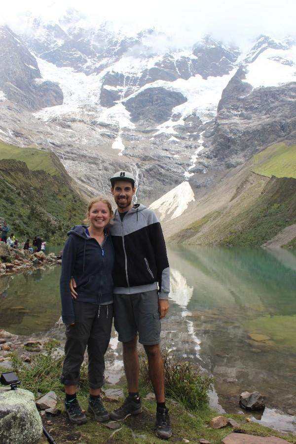Salkantay Trek Wandern Peru Südamerika Machu Picchu Natur Lagune Humanatay
