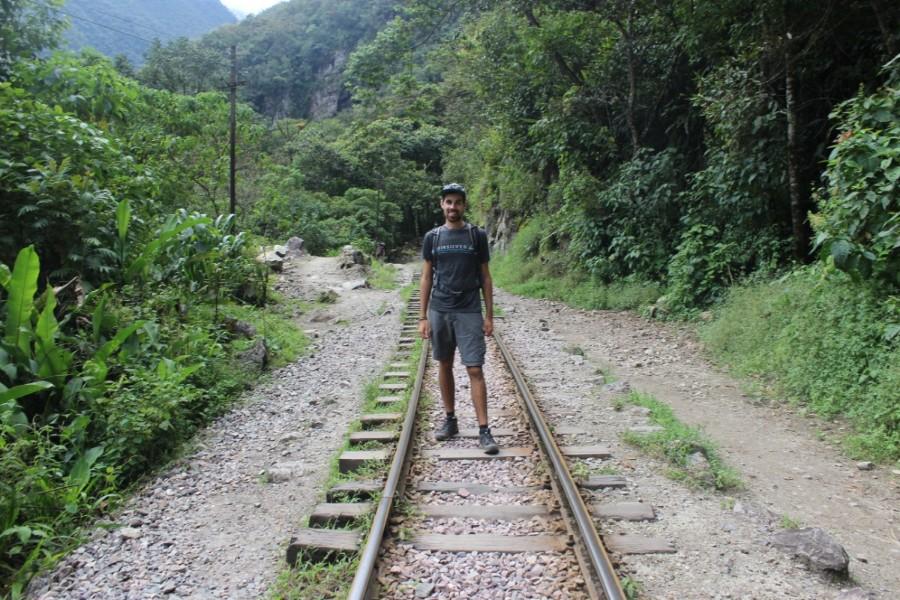 Salkantay Trek Wandern Peru Südamerika Machu Picchu Natur Gleise Zug