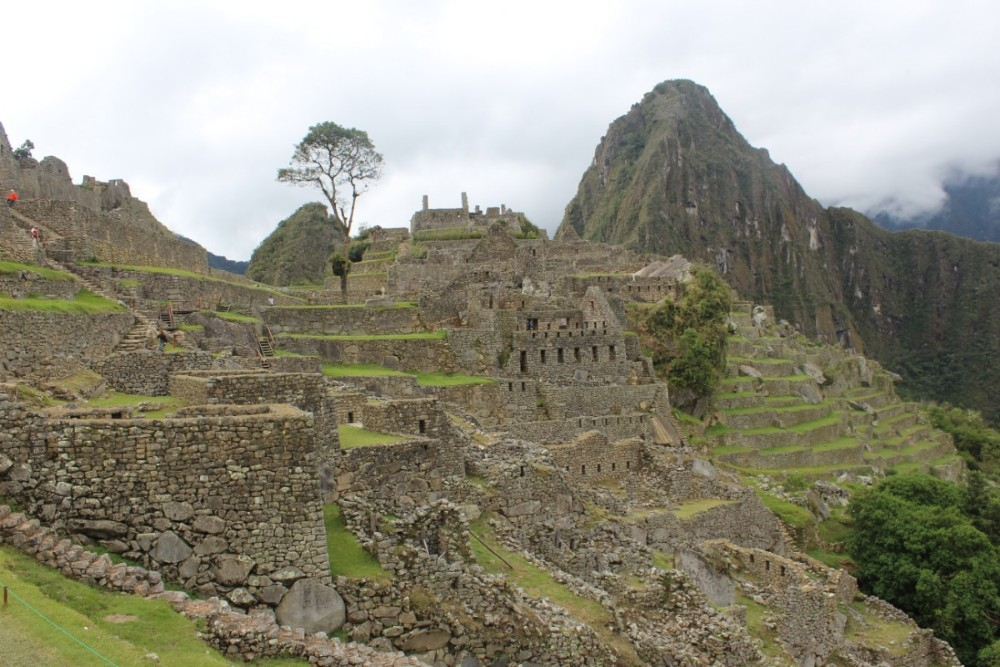 Machu Picchu Peru Südamerika Inka Ruinen  Beeindruckend Wanderung geschafft Wayna Picchu