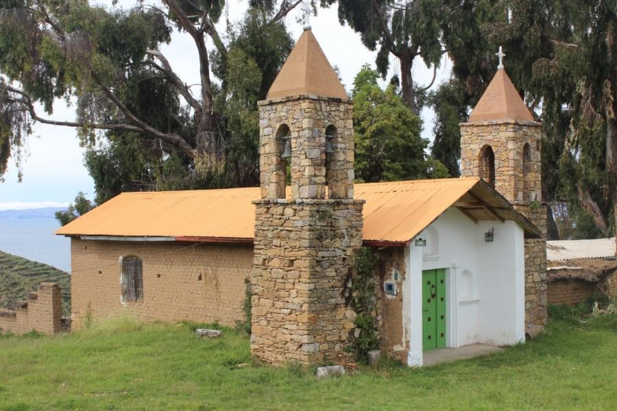 Isla de Sol Bolivien Copacabana Südamerika Insel Inka Natur Kirche Titicacasee