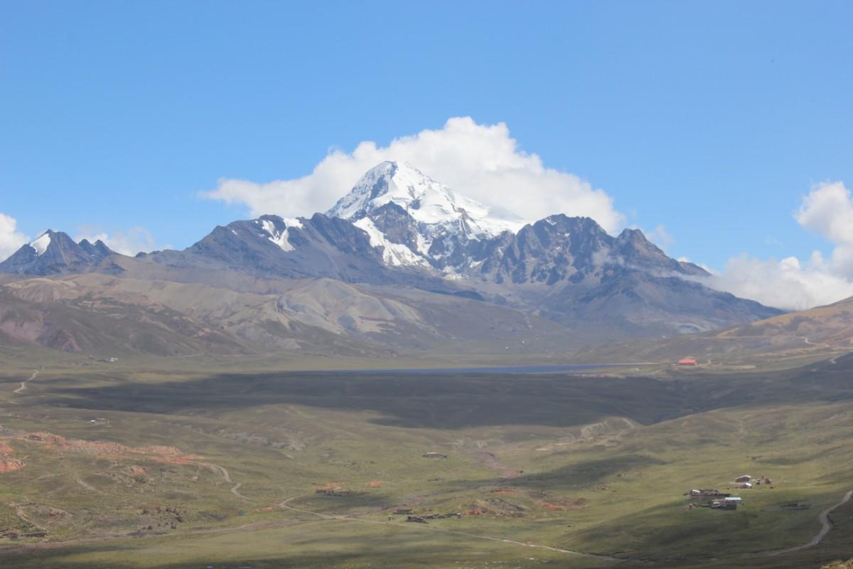 Huayana Potosi Wandern Bergsteigen 6000er La Paz Bolivien Südamerika Aussicht Gipfel