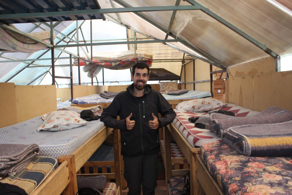 Huayana Potosi Wandern Bergsteigen 6000er La Paz Bolivien Südamerika Bettenlager High-Camp