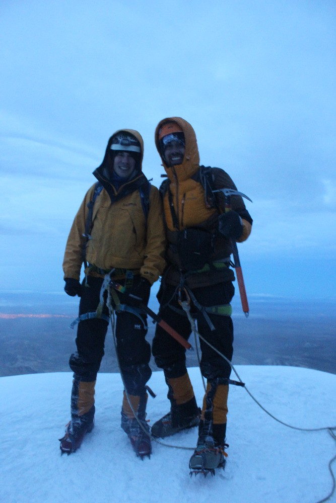 Huayana Potosi Wandern Bergsteigen 6000er La Paz Bolivien Südamerika Gipfel Geschafft Erfolg