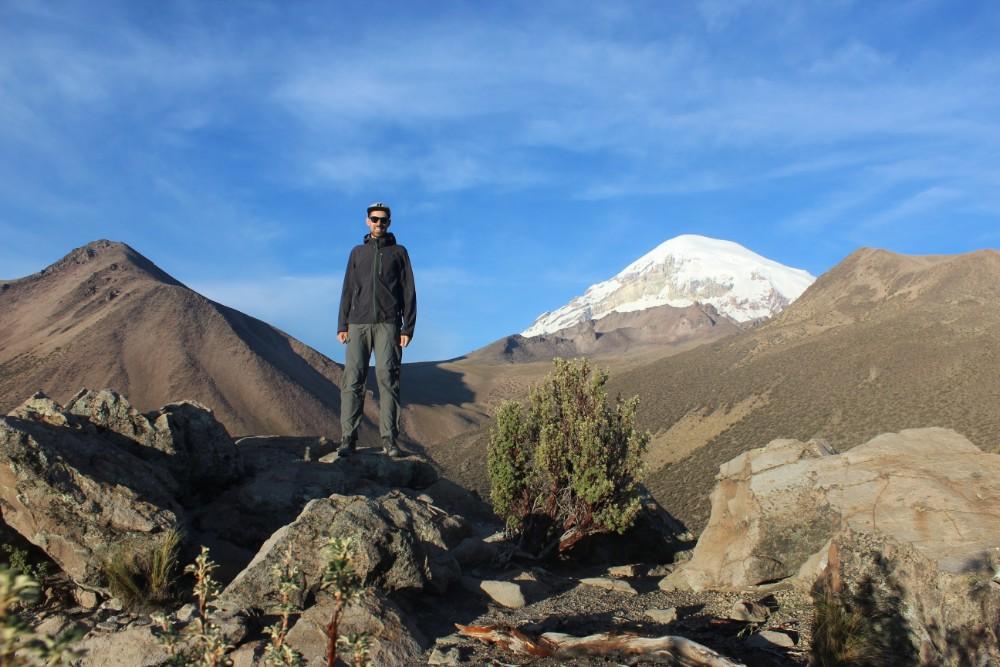 Sajama Nationalpark Natur Sajama Berg Gipfel Höchster Berg Boliviens Südamerika Wanderung