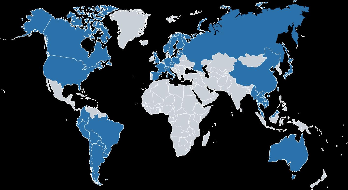 Jakobs Weltkarte