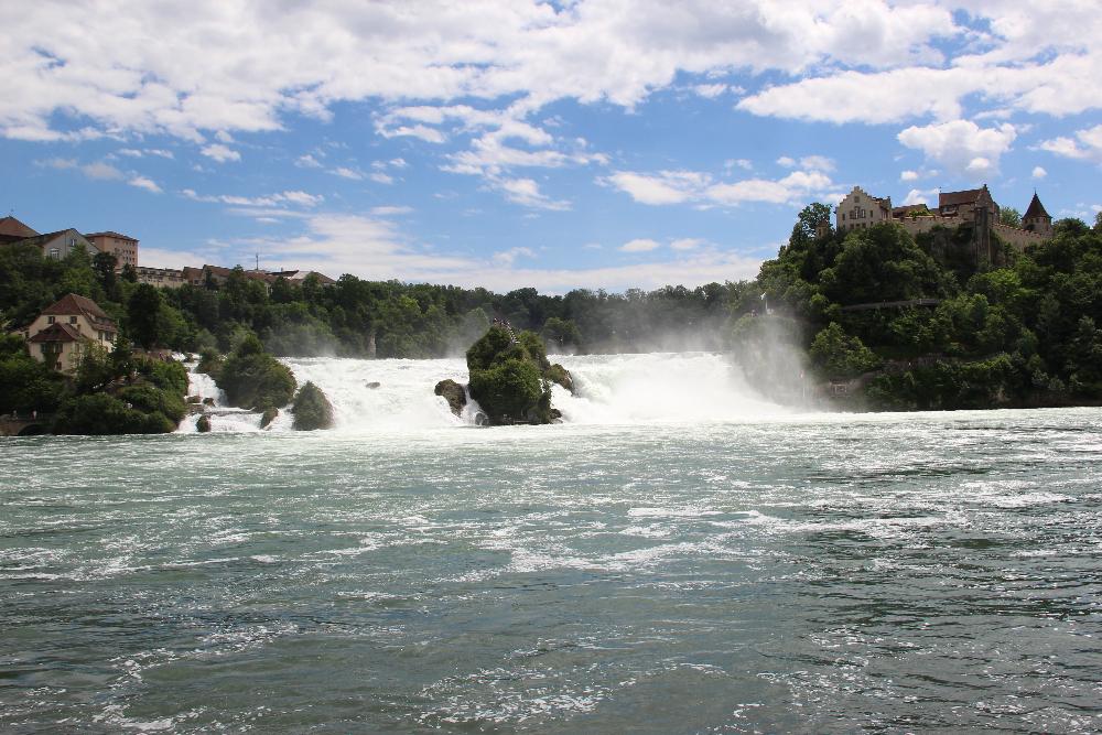 Wasserfall-Rhein
