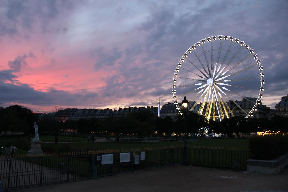 Abendstimmung-Paris