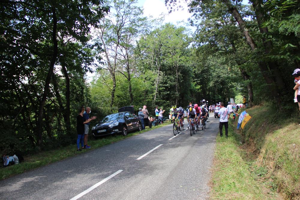 Ausreißer der Tour de France