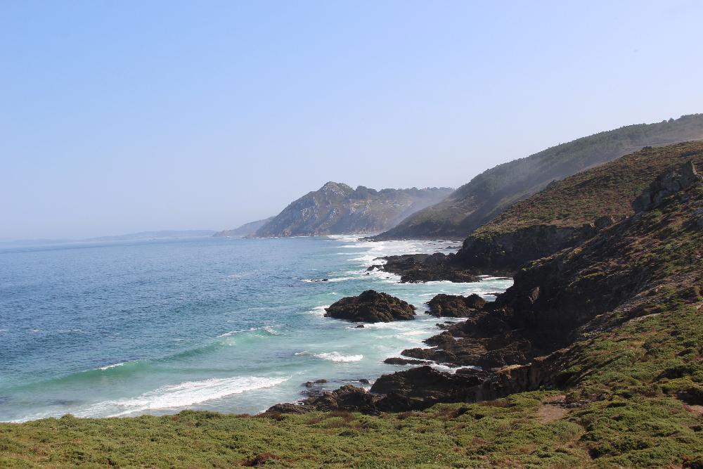 Klippen und Strand