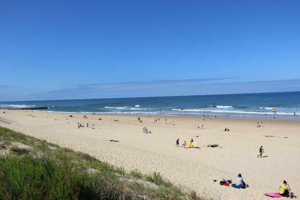 Strand mit Meer
