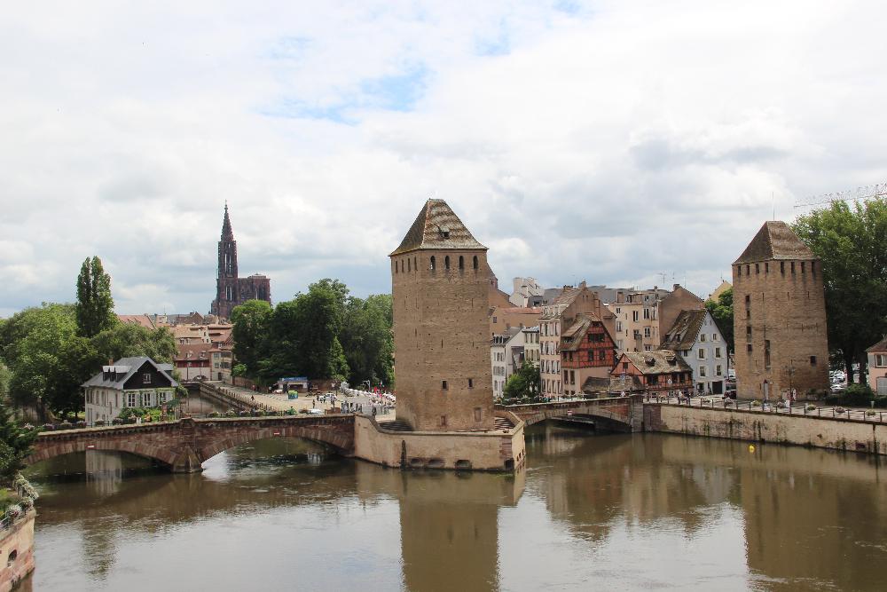 Straßburg am Fluss