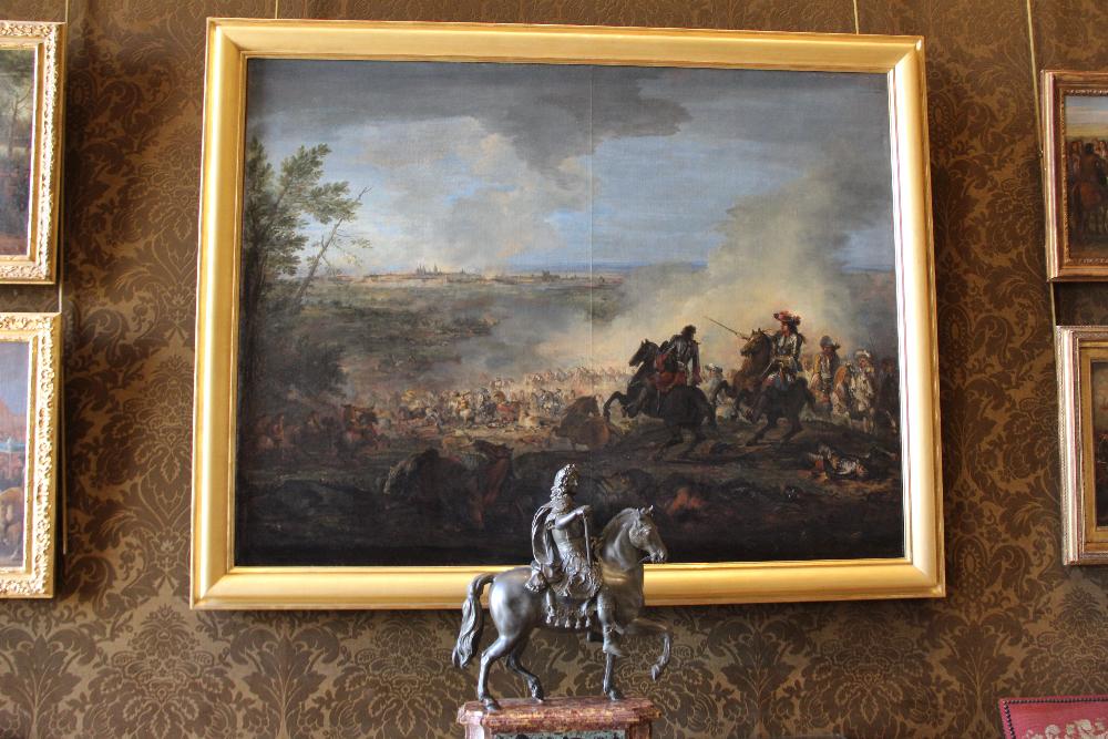 Statue-und-Gemälde