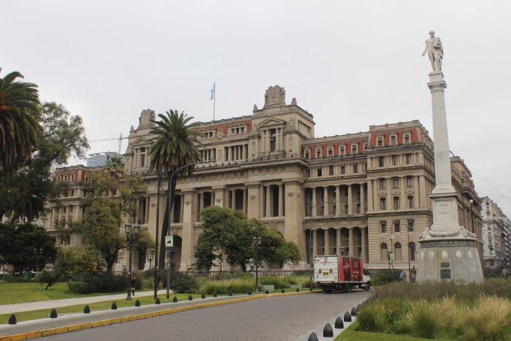 prunkvoll gebaeude aristokraten hauptstadt buenos aires suedamerika argentinien